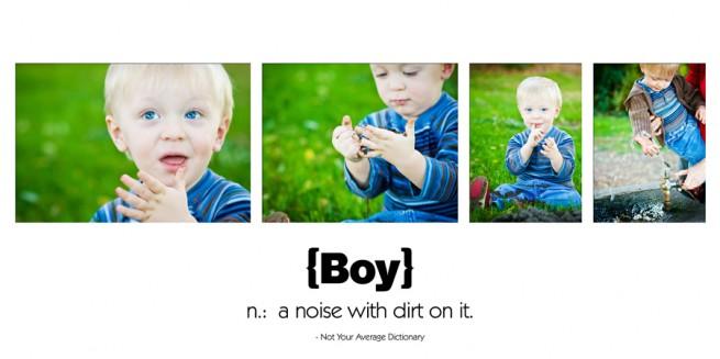 little boy storyboard