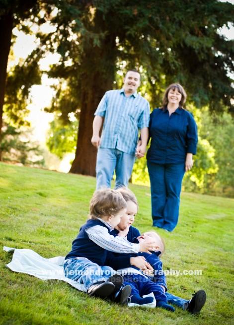 clark family photo