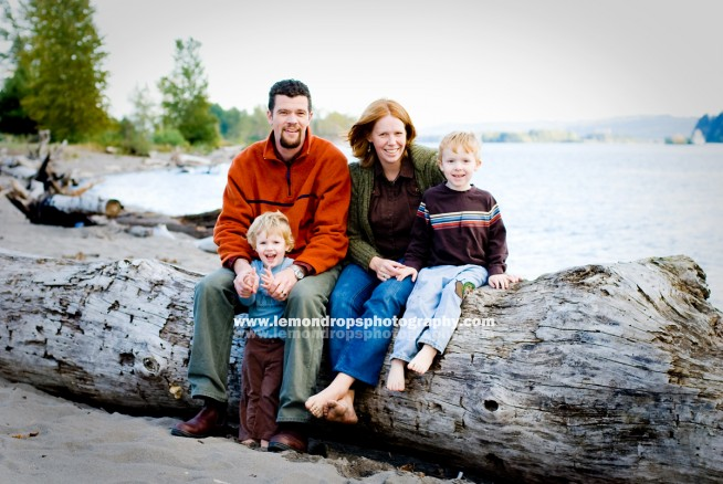 family session at willow grove beach