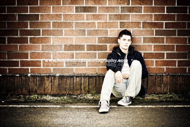edgy senior photography